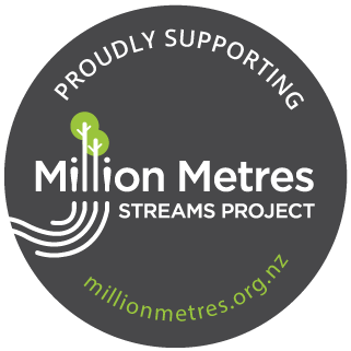 Proudly supporting Million Metres Streams Project